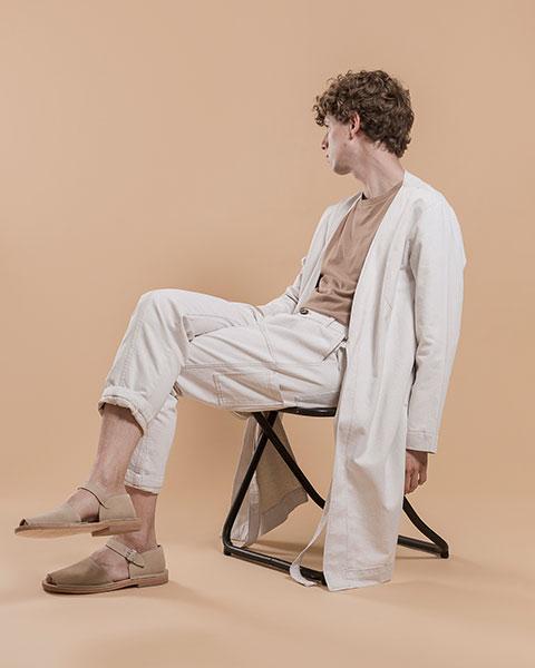 Pantalón blanco 'Aitor'