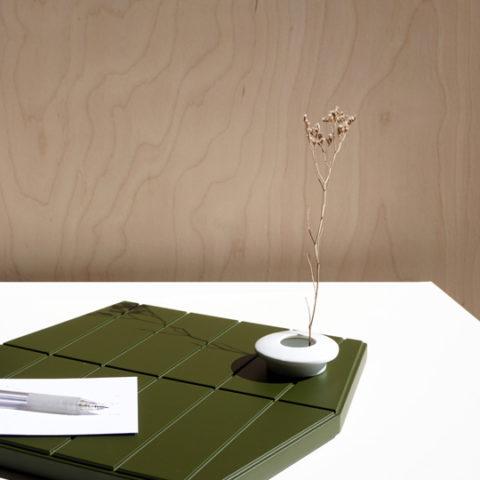 Tabla pequeña verde