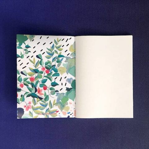 Terrazo large printed notebook