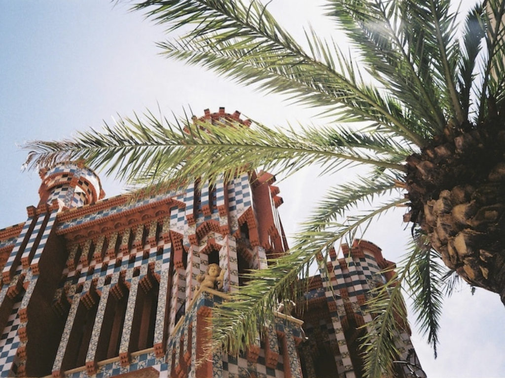 The Casa Vicens, the oasis designed by Gaudí in Gràcia.