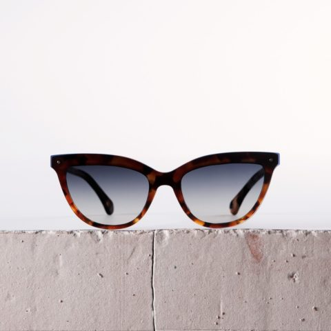 Tortoise sunglasses Le Chat