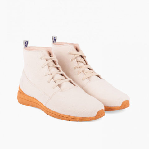 Zapatillas Iver Sambo Canvas ecru