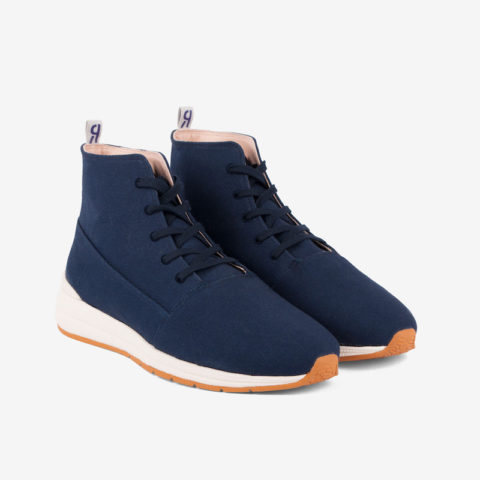 Zapatillas Iver Sambo Canvas marinas