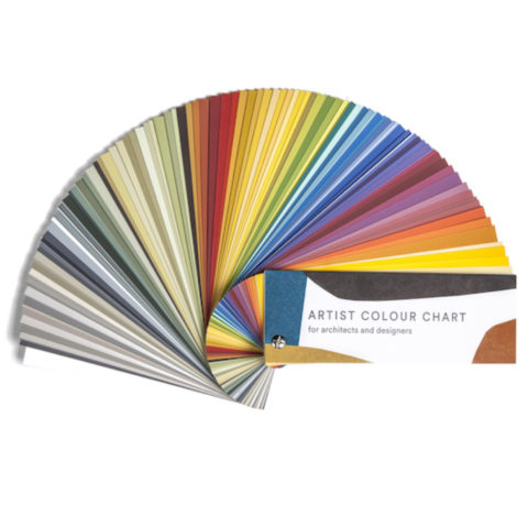 Artist Colour Chart by Claudia Valsells