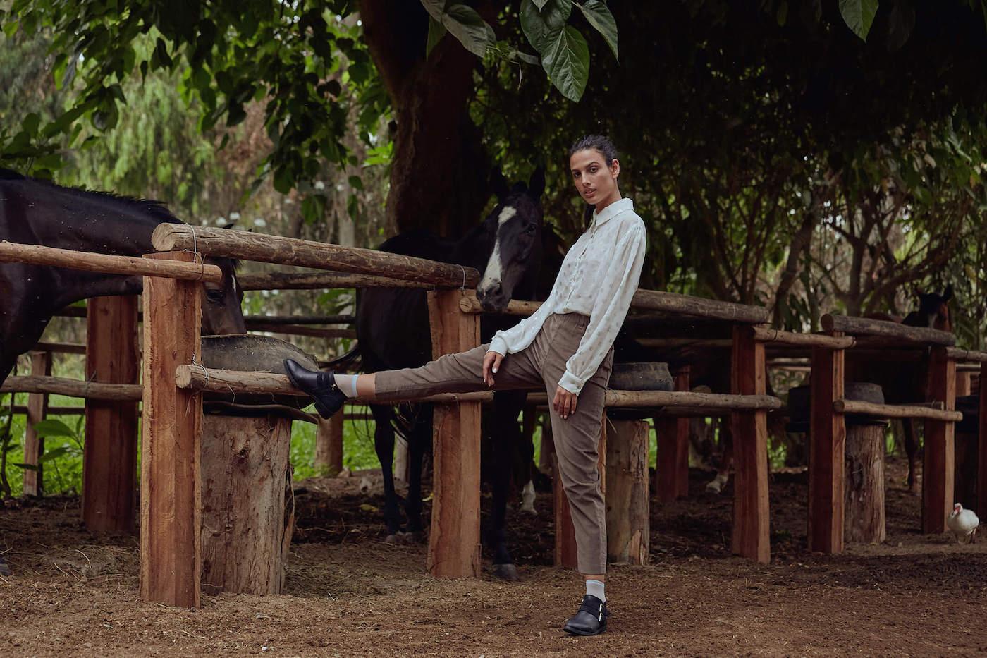 Daniela De Bernardis, diseñadora peruana afincada en Barcelona.