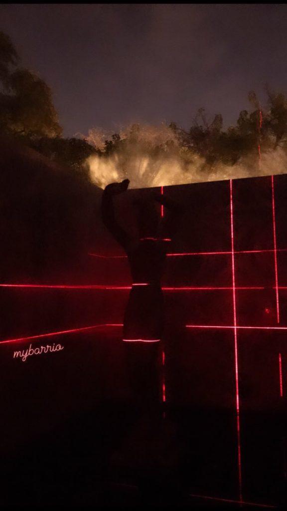MYBARRIO Pabellón Mies van der Rohe - Geometry of Light 2