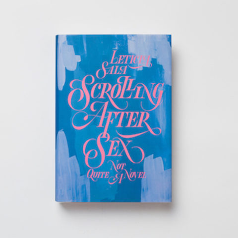 "Book ""Scrolling After Sex"" – Leticia Sala"