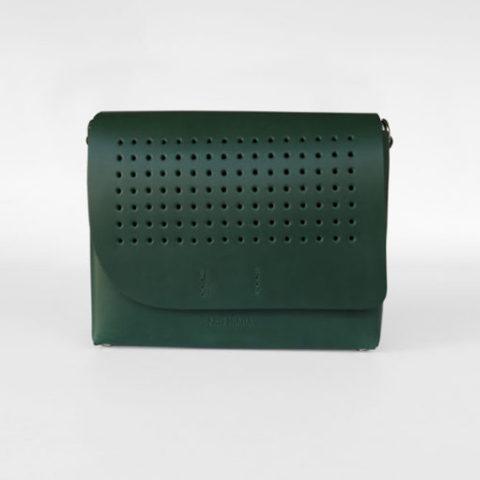 Bolso bandolera verde Berta