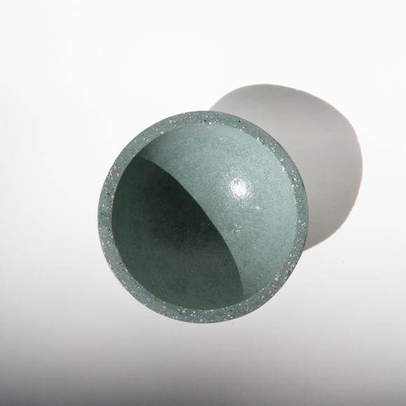 Cuenco Concrete verde menta MYBARRIO LAVA OBJECTS 1