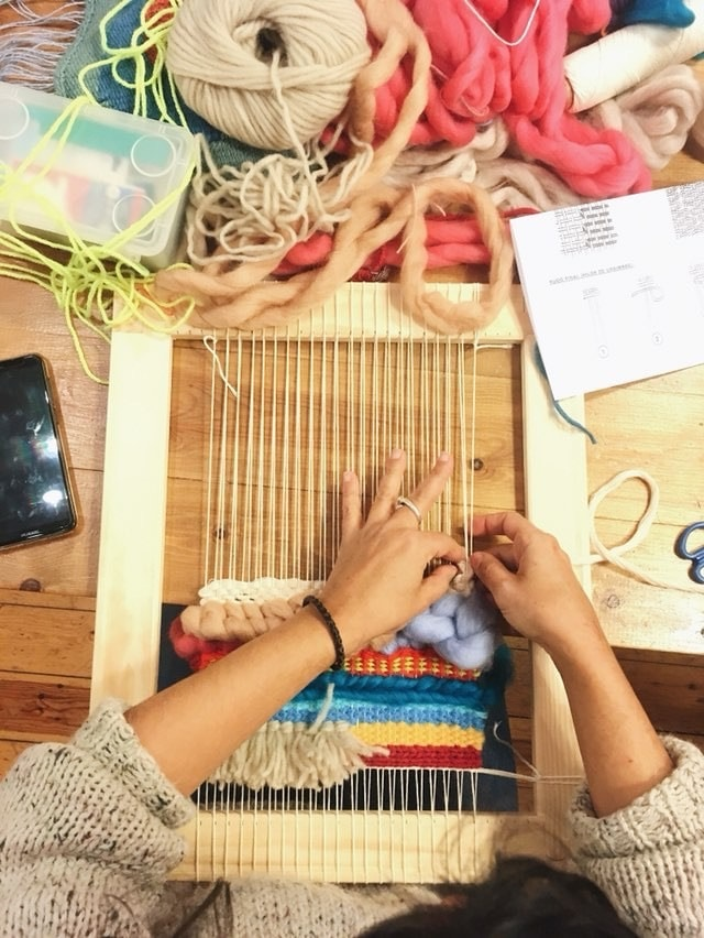 Taller de tapicería en MYBARRIO Pop Up I