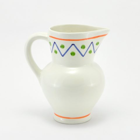 Jarra de cerámica Zig-Zag