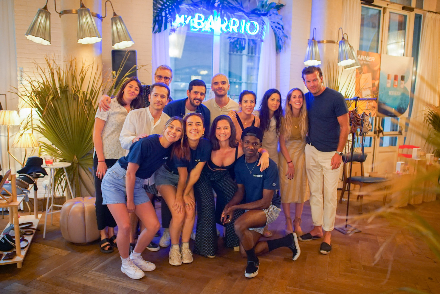 MYBARRIO Pop Up d'Estiu Soho House staff