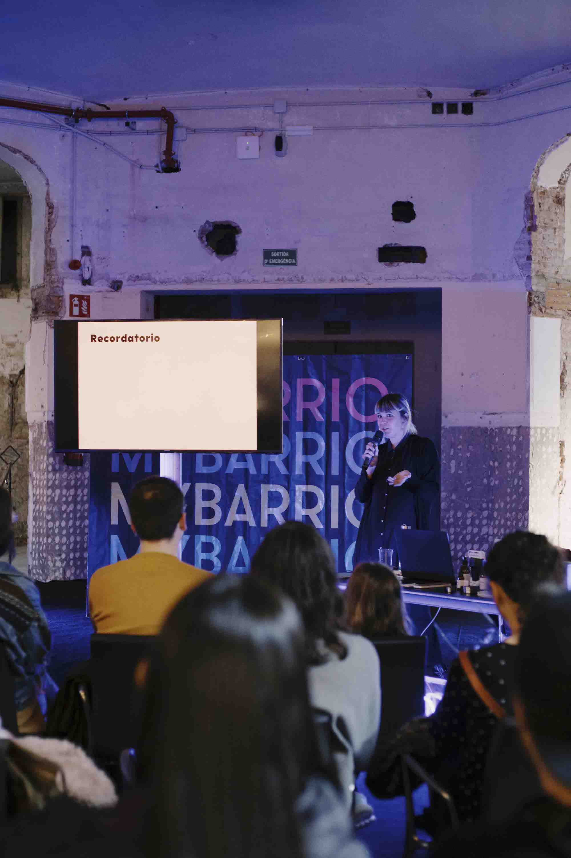MYBARRIO Pop Up Hivern Sant Pau - Charla - Nuria Vila