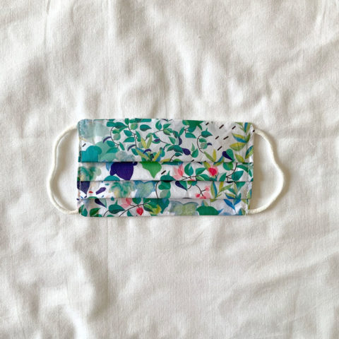 Printed reusable face mask Batlle