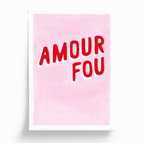 Ilustración «Amour fou» 14,8 x 21 cm