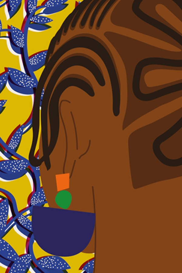 """Buy """"Nigerian women"""" illustration by Taxi Brousse on MYBARRIO"""