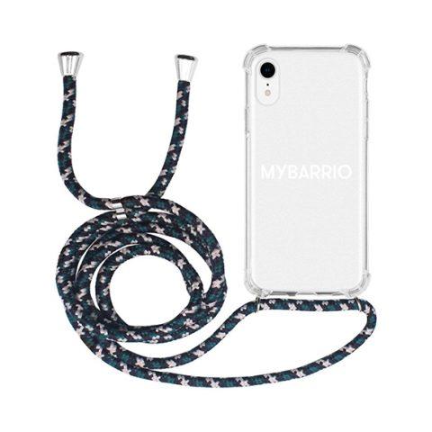 Funda Iphone transparente cordón camuflaje