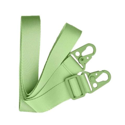Green crossbody Iphone case with flat rope